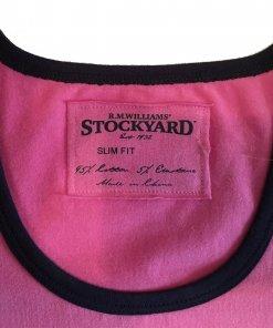 RMW Yallook T-Shirt - Pink (Neckline)
