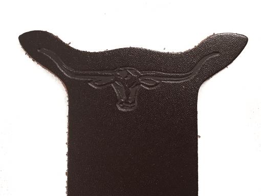 RM Williams Leather Bookmark
