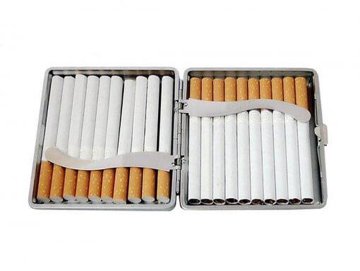 Slim Cigarette Case - Black