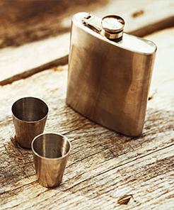 Flasks & Barware
