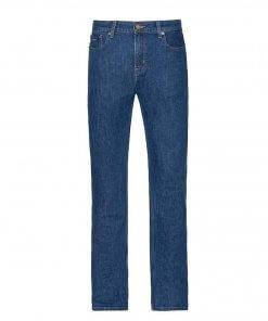 RM Williams Mens 'Ramco' Stone Wash Regular Fit Denim Jeans