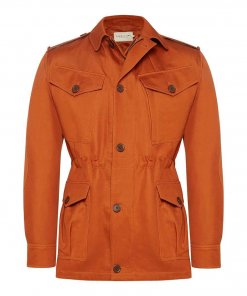 RM Williams 'Montgomery' Jacket - Rust