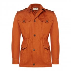 RM Williams 'Montgomery' Jacket - Rust