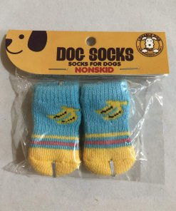 Pet Socks (Dog / Cat) Non Slip (Set of 4) - DSBLBN30