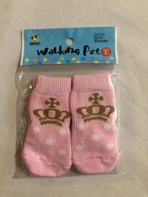 Pet Socks (Dog / Cat) Non Slip (Set of 4) - DSPKCR40