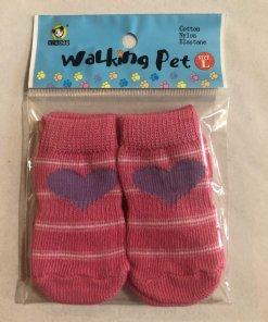 Pet Socks (Dog / Cat) Non Slip (Set of 4) - DSPKHE40