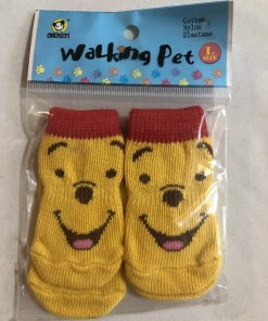 Pet Socks (Dog / Cat) Non Slip (Set of 4) - DSYLWP40