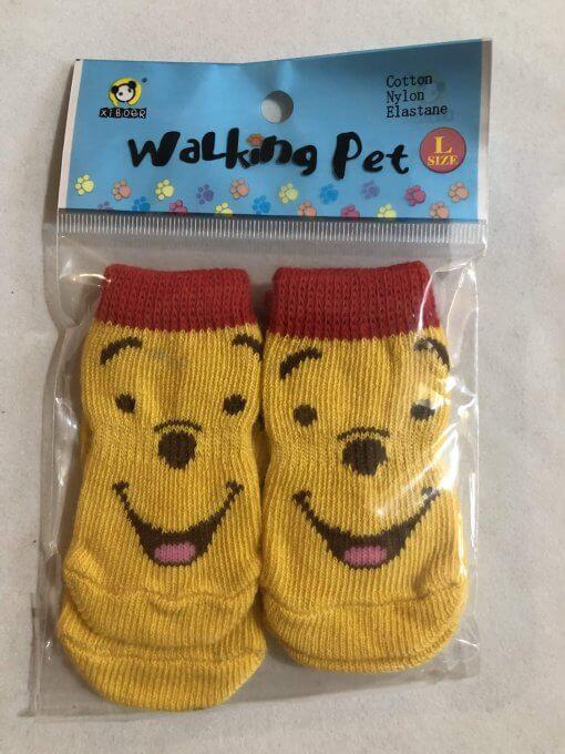 Pet Socks (Dog / Cat) Non Slip (Set of 4) - DSYLWP40