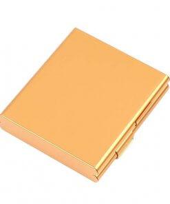 Aluminium Cigarette Case - Gold