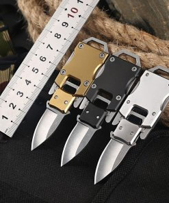 Stainless Steel Pocket Knife for Keyring or Neck Chain