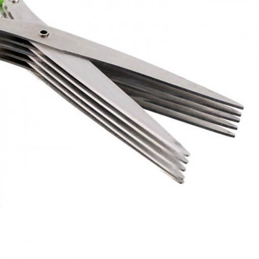 Five Blade Herb Scissors