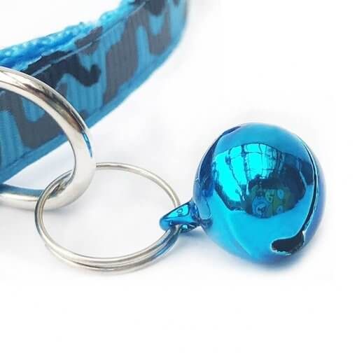 Printed Pet Collar with Removable Bell