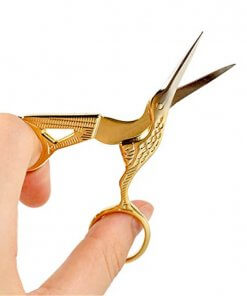 Vintage-style Scissors for Embroidery, Needlecraft, Threadwork