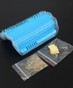 Pet Self Groomer with Catnip & Corner Fittings