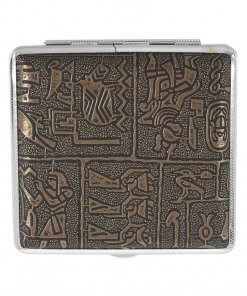 Egyptian Textured Designer Cigarette Case