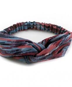 Women's Patterned Fabric Twist Design Headband