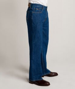RM Williams Mens Rough Rider Denim Jeans