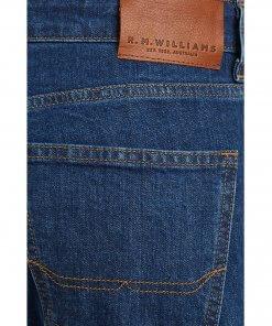 RM Williams Mens Rough Rider Denim Jeans