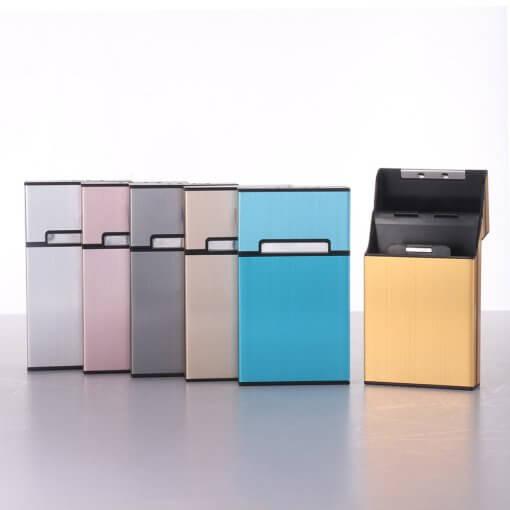 Cigarette Case with Flip Lid