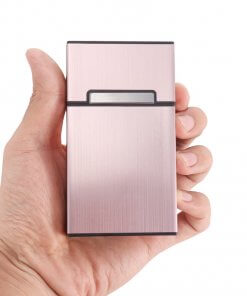 Cigarette Case with Flip Lid