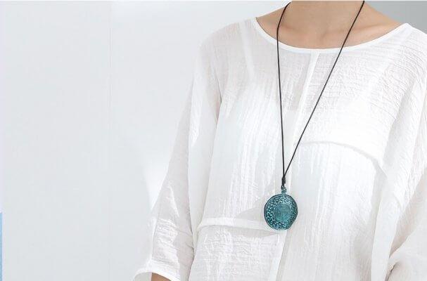 New in Store: Enamel Pendant Necklaces
