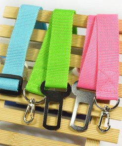 Adjustable Pet Car Seat Belt Restraint