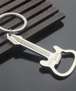 Guitar Bottle Opener Keyring