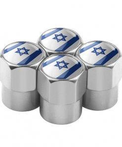 Israeli Flag Tyre Valve Caps