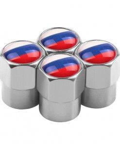 Russian Flag Tyre Valve Caps